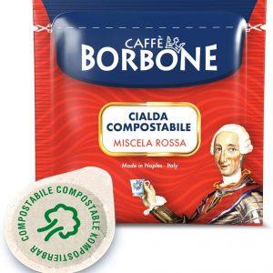 150 Cialde Filtro carta Caffè Borbone ESE 44mm Miscela Rossa Red