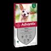 Bayer advantix spot-on 4 pipette per cani fino 4 kg