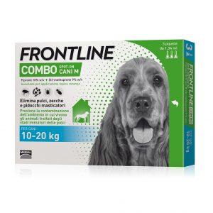 Frontline combo spot-on per cani 10-20 kg 3 pipette