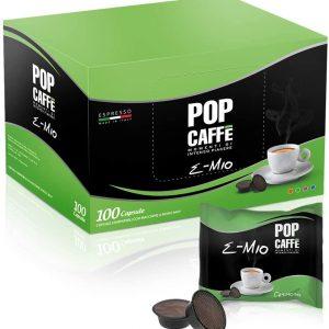 Compatibile uno system, illy e kimbo Capsule autoprotette Miscela intensa Pop caffè Intenso piacere