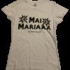 T-Shirt Mai Mariaa by Valeria Chiodelli Bianca