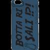 Cover per Smartphone by Valeria Chiodelli - Botta Ri Sali Blu scritta nera