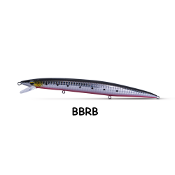raft minnow 140 mm 14 gr bbrb